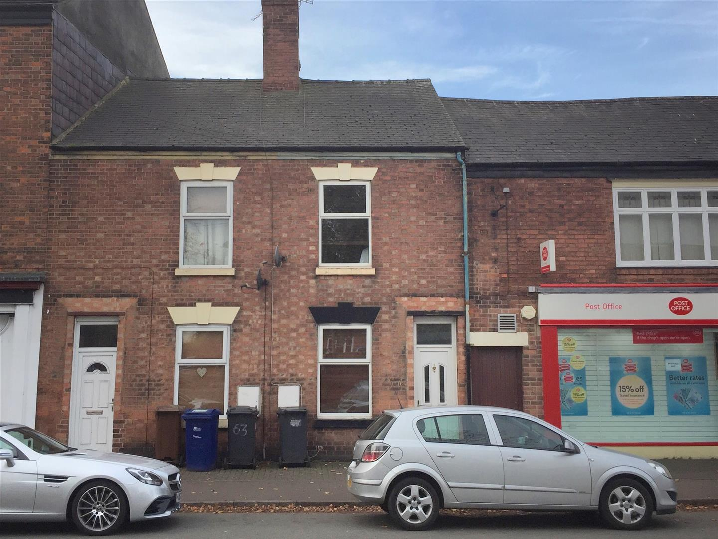 2 Bedrooms Terraced House for sale in Horninglow Road, Burton-On-Trent